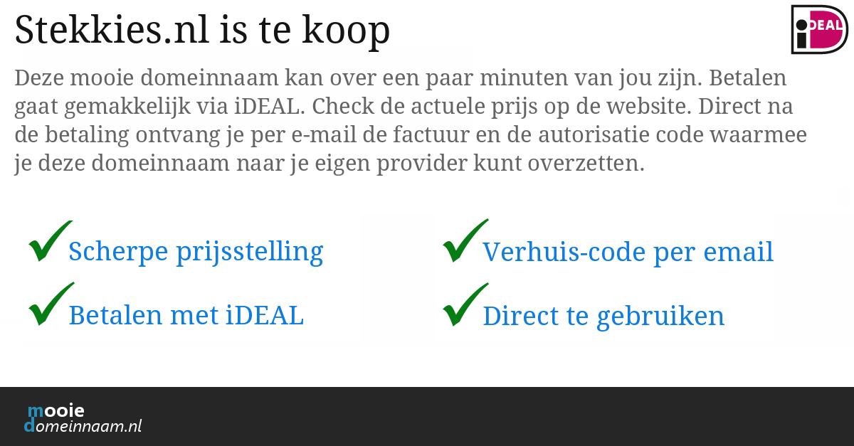 (c) Stekkies.nl